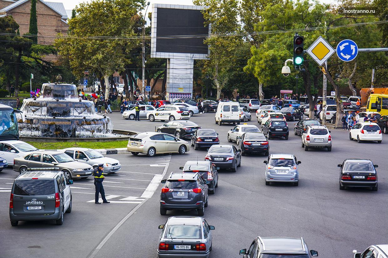 На автомобиле по Тбилиси