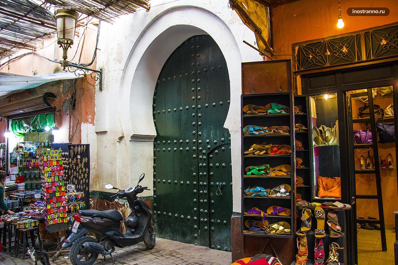 Вход в дом Марокко