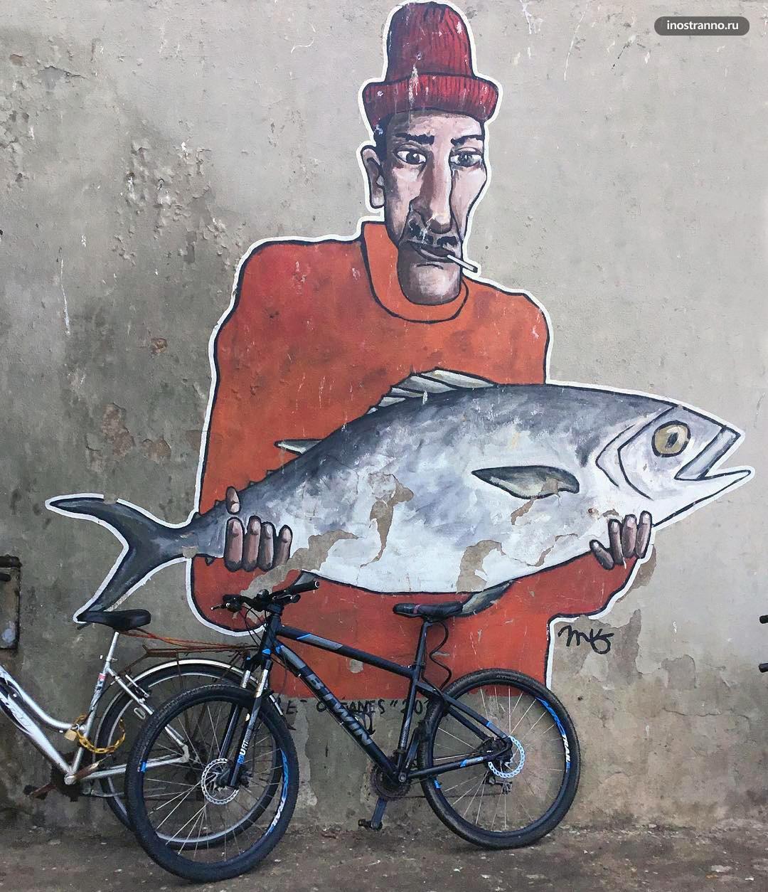 Эссуэйра граффити