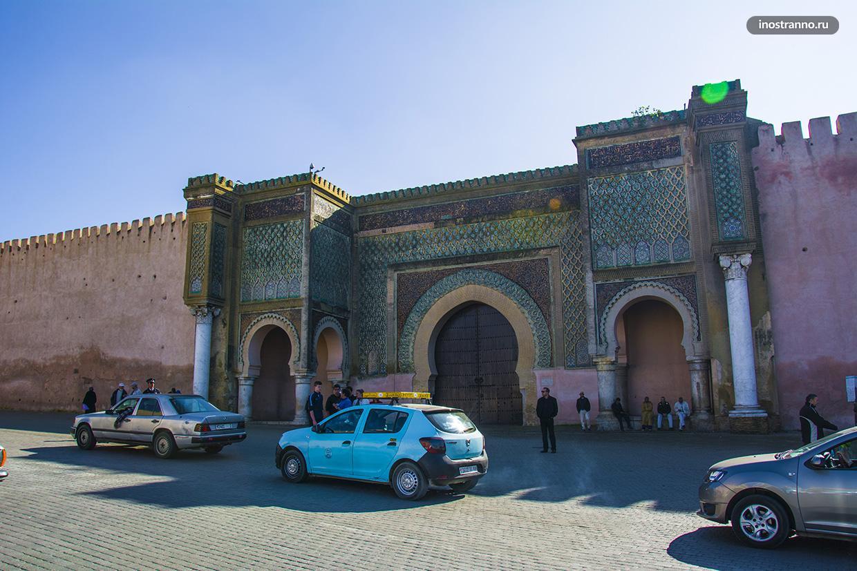 Красивые ворота в Марокко