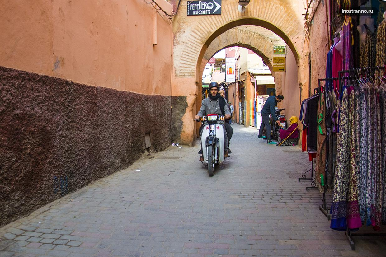 Мотоциклы в Марракеше