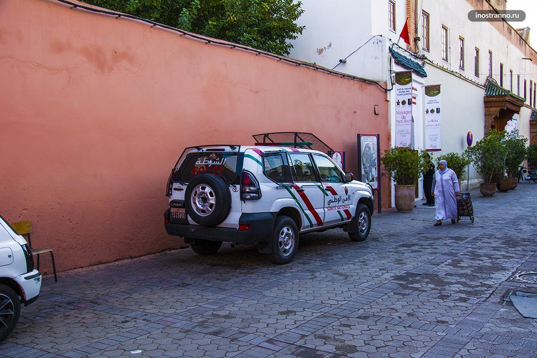 Полиция Марокко
