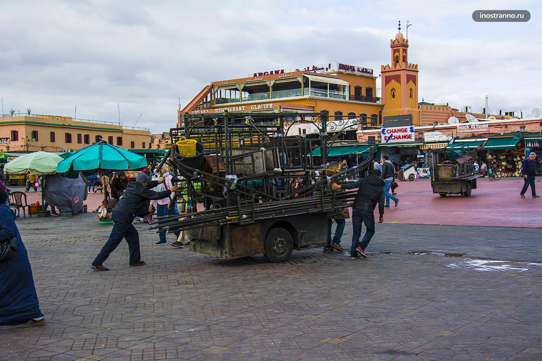 Бедный Марокко