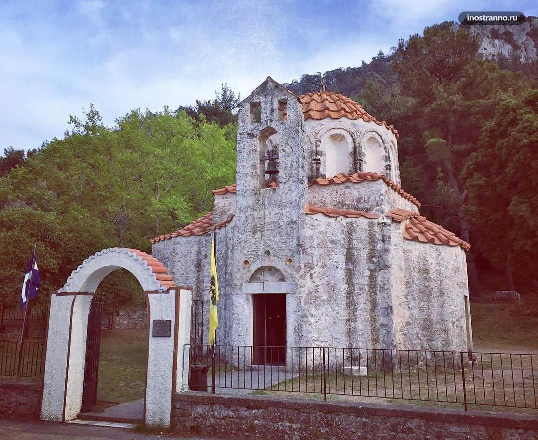Церковь Фундукли на Родосе достопримечательность