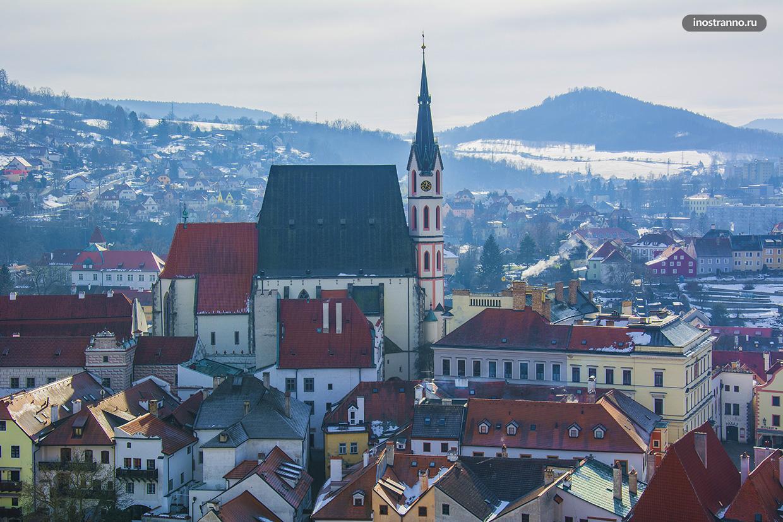 Костел в Чешском Крумлове
