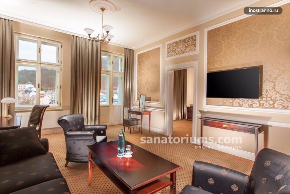 Лучший спа отель и санатория в Карловых Варах