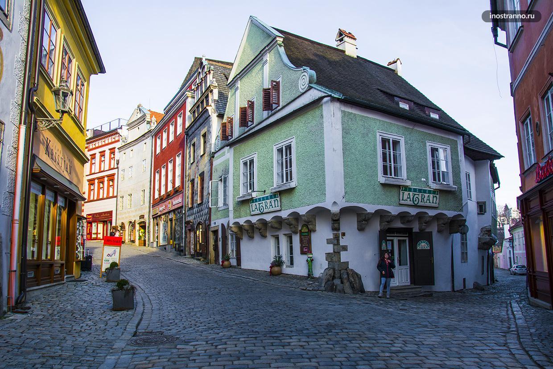 Красивый чешский домик