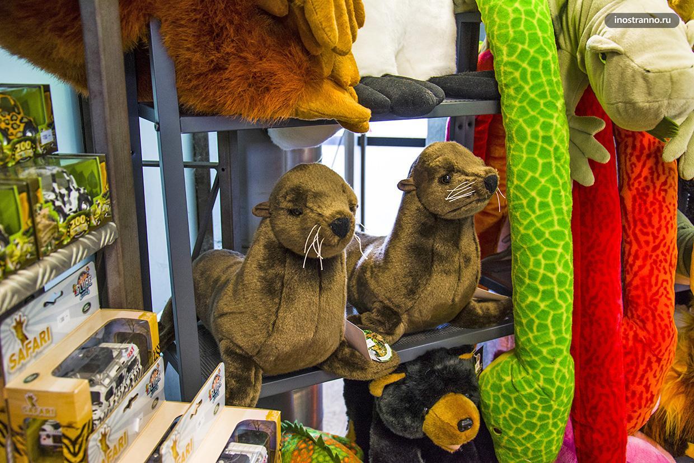 Плюшевые игрушки из зоопарка Праги