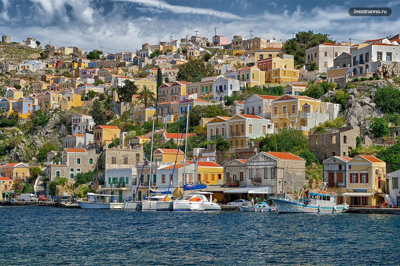 Остров Сими экскурсия с Родоса