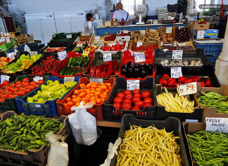 Овощи в Праге