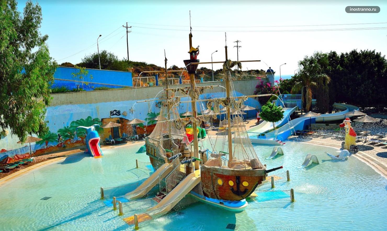 Аквапарк Water Park на Родосе