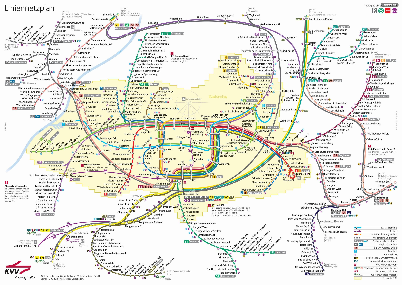 Баден Баден карта электричек и поездов