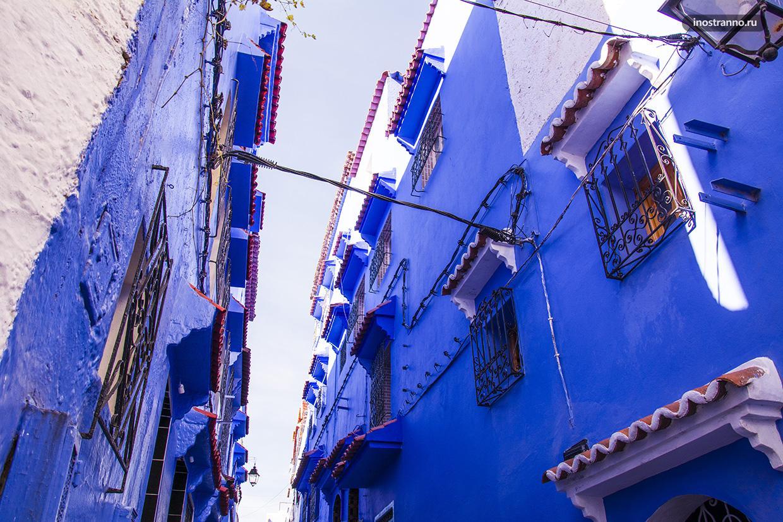 Шефшауэн синие дома