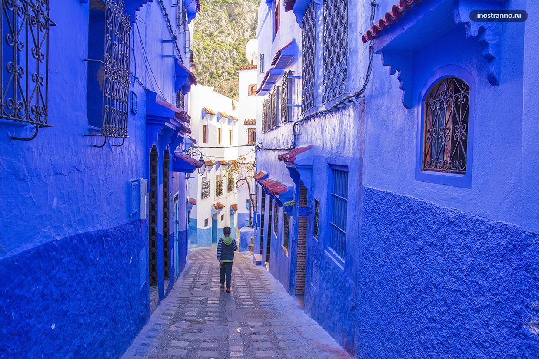 Самый красивый город в Марокко