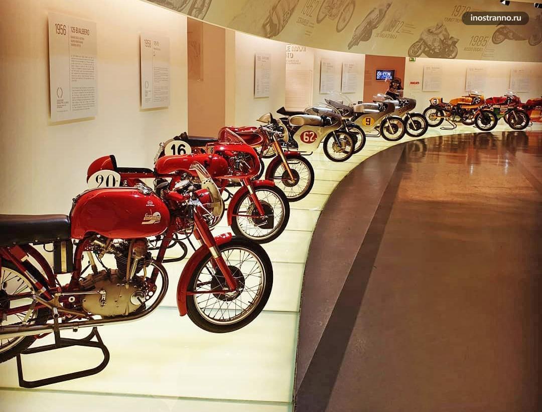 Музей мотоциклов Дукати в Болонье