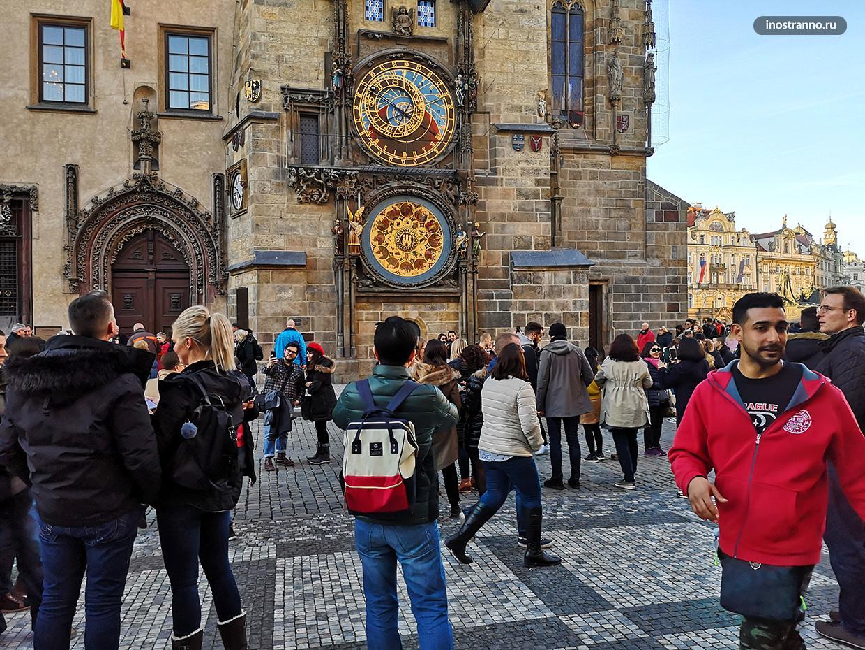 Достопримечательность Праги часы