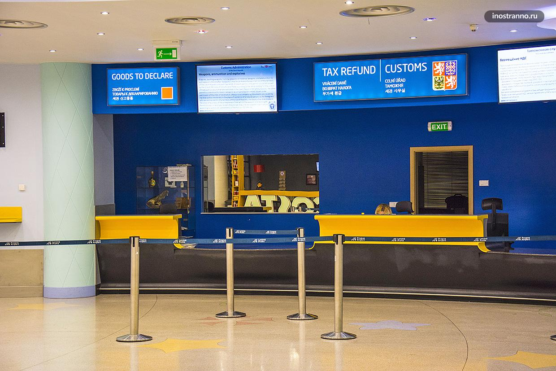 Возврат Таксфри налога НДС в аэропорту