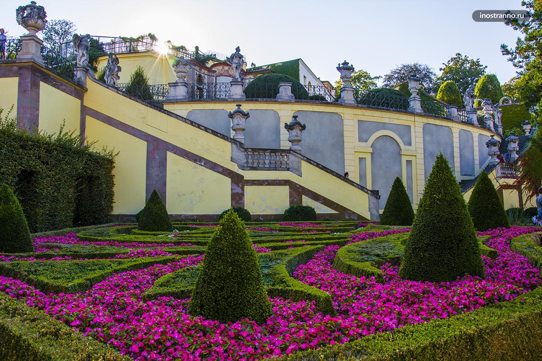 Романтичный Вртбовский сад