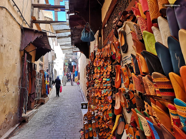 Улицы в медине Феса