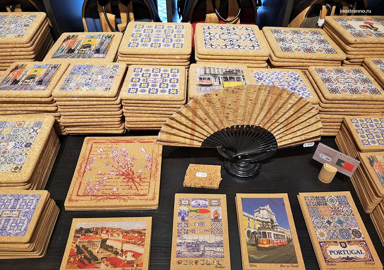 Сувениры из пробки в Португалии