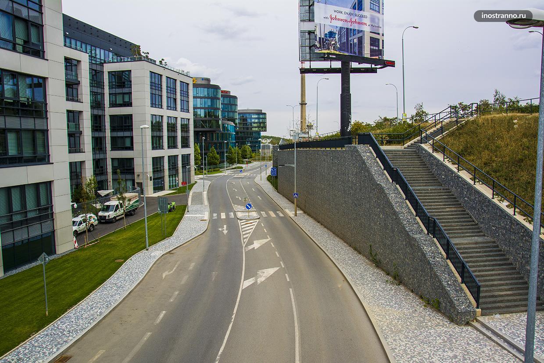 Дорога в Праге