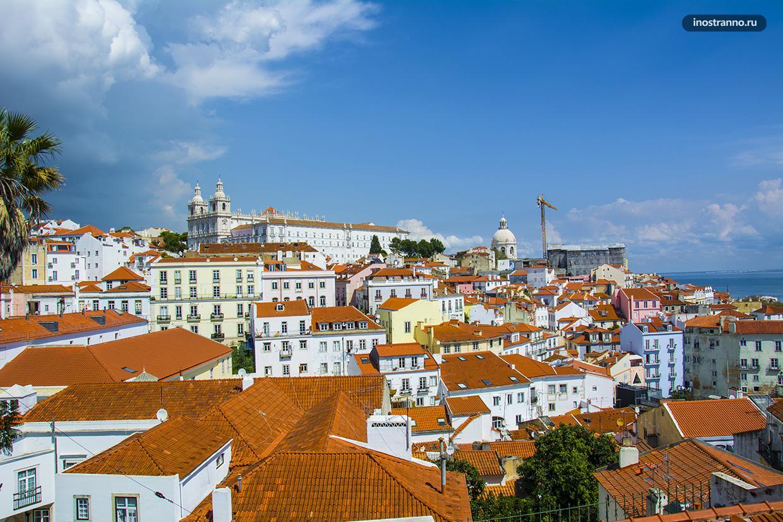 Лучшая смотровая площадка Лиссабона