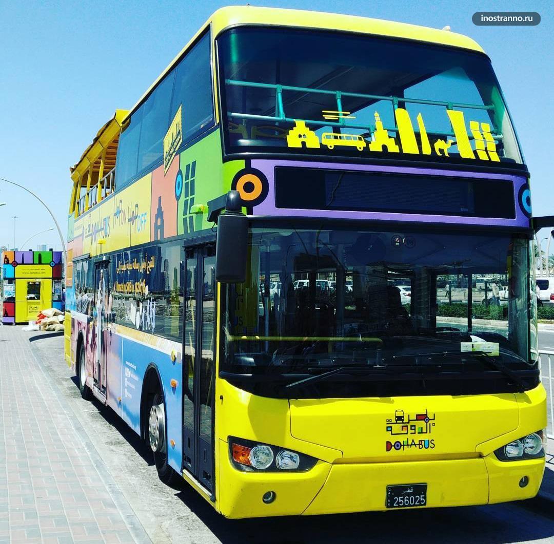 Hop On Hop Off экскурсионный автобус в Дохе