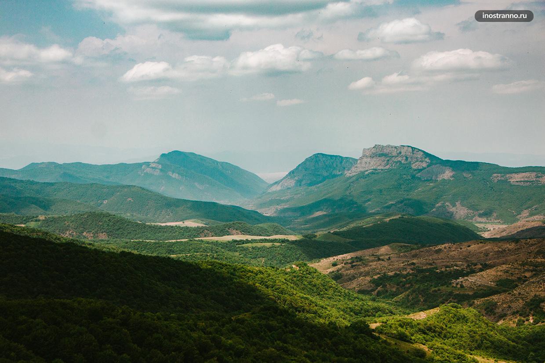 Деревня Джута красивое место на 1 день из Тбилиси