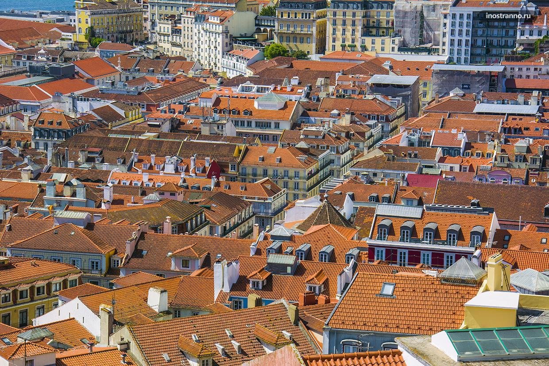 Лиссабон с высоты