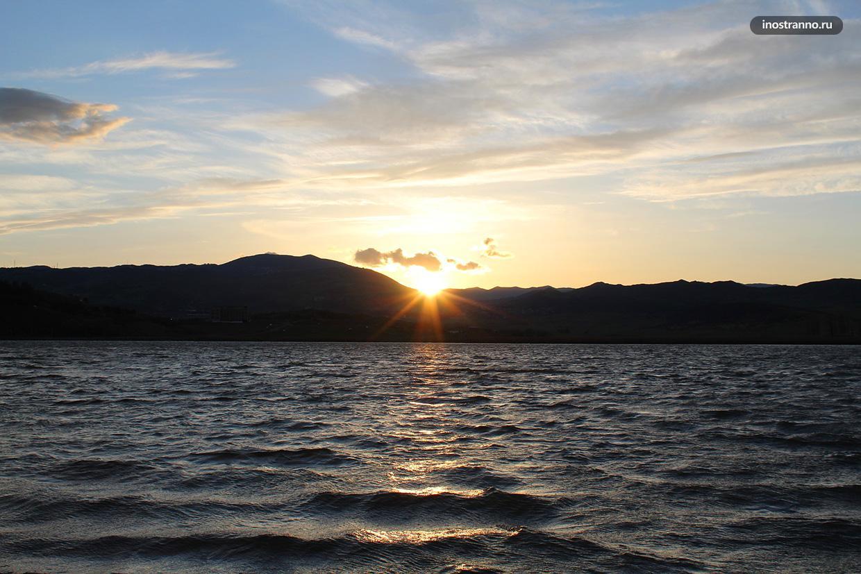 Озеро Лиси рядом с Тбилиси