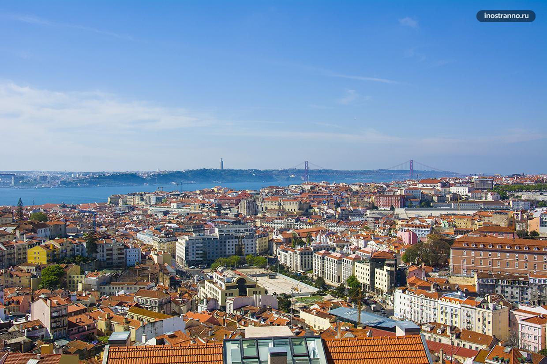 Смотровая площадка Сеньора ду Монте в Лиссабоне