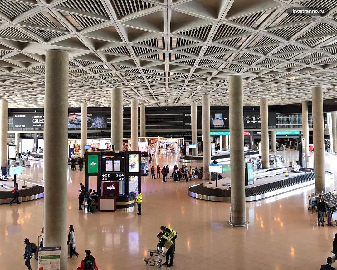 Аэропорт Королева Алия в Аммане Терминал