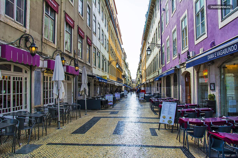 Рестораны в центре Лиссабона