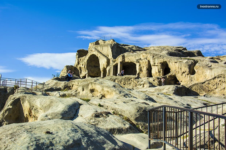Пещерный город Уплисцихе экскурсия из Тбилиси