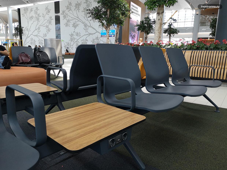 Зал ожидания в аэропорту