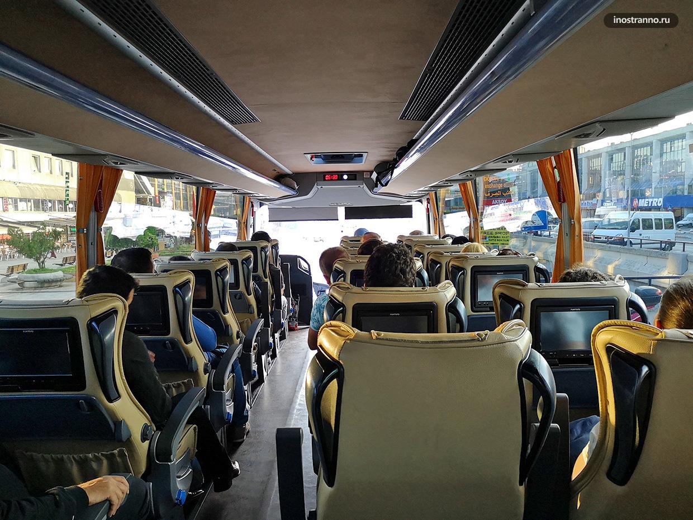 Автобус в Новый аэропорт Стамбула