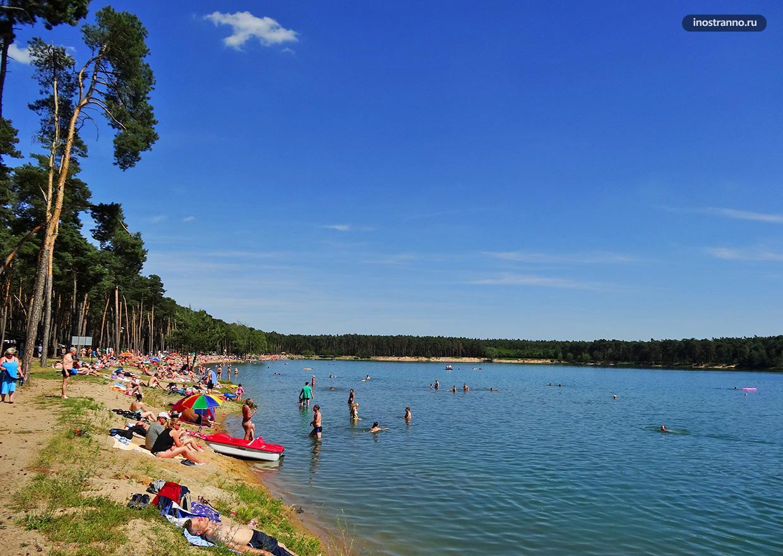 Озеро Липно в Чехии