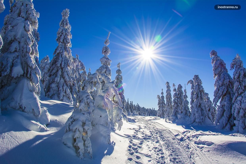 Снег в Чехии, Шпиндлерув Млын
