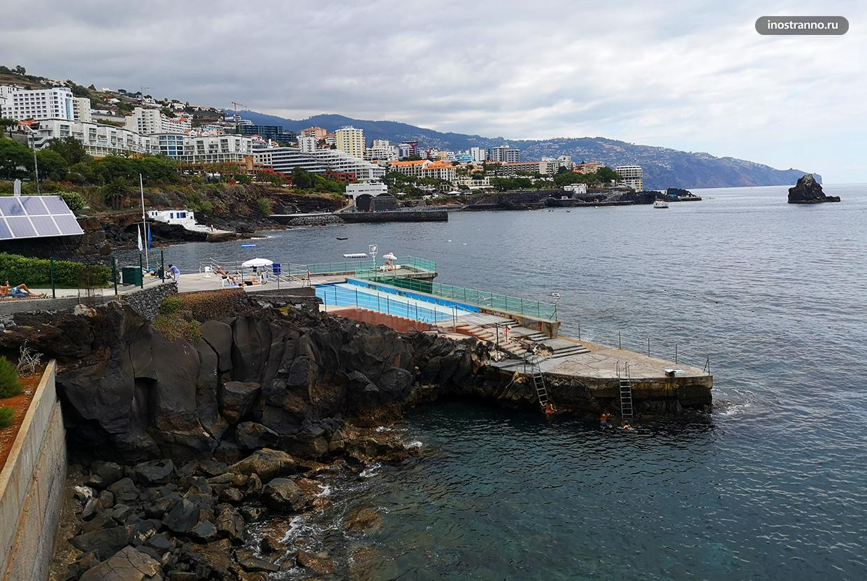 Complexo Balnear da Ponta Gorda комплекс бассейнов на Мадейре