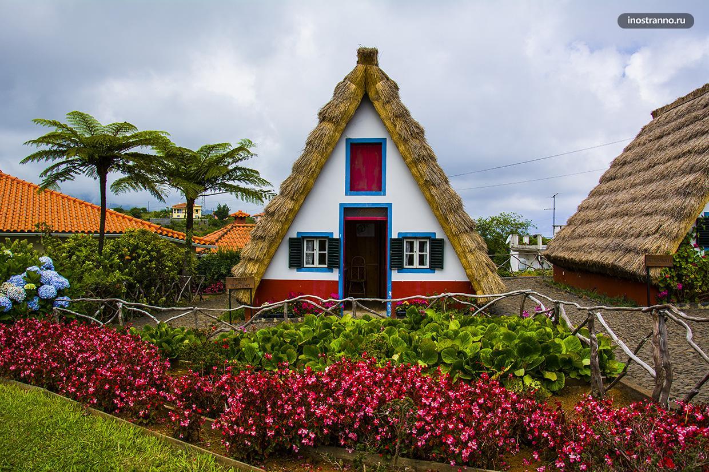 Деревня Сантана на Мадейре