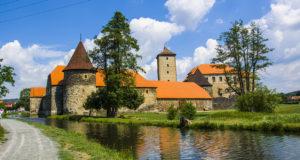 Замки Швигов и Жинковы рядом с городом Пльзень