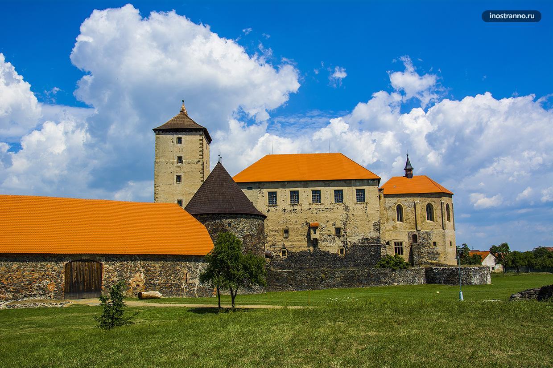 Замок Швигов в Чехии