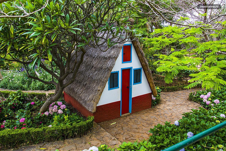 Традиционный дом на Мадейре