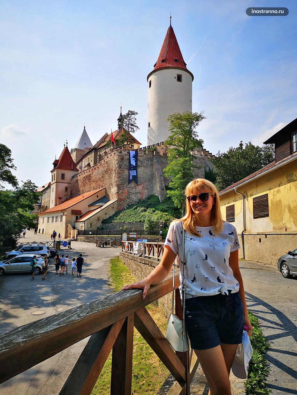 Чешский замок Кршивоклат