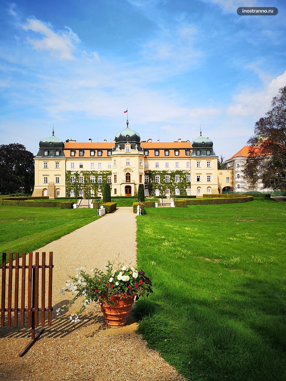 Замок Ланы в Чехии