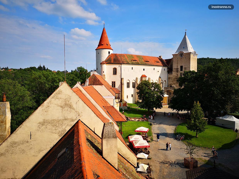 Самый красивый чешский замок