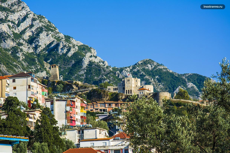 Албанский город Круя