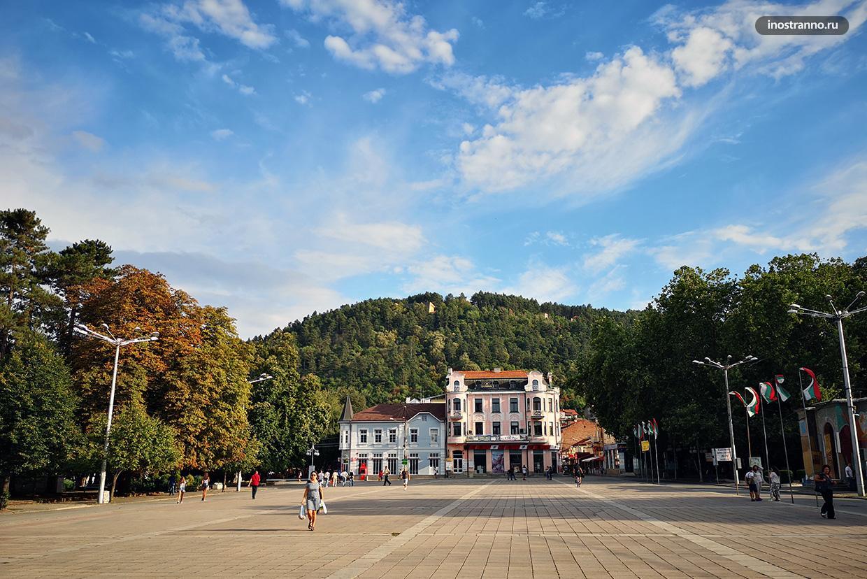 Болгарский город Кюстендил