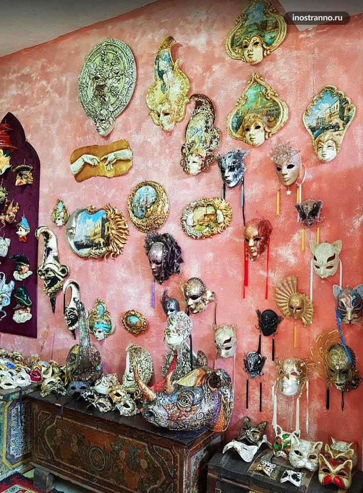 Фабрика по производству Венецианских масок