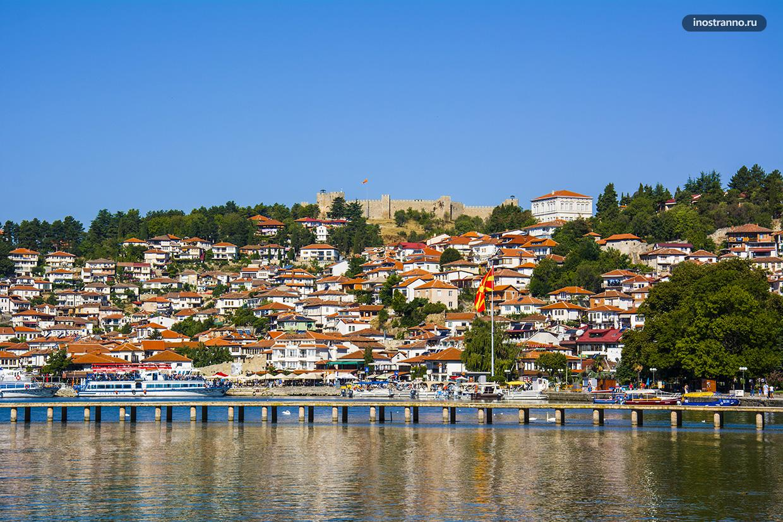 Панорама города Охрид
